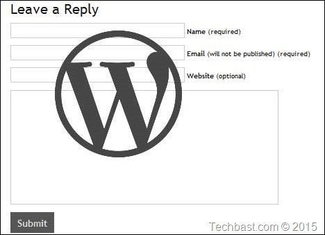 WordPress-Comment-Form